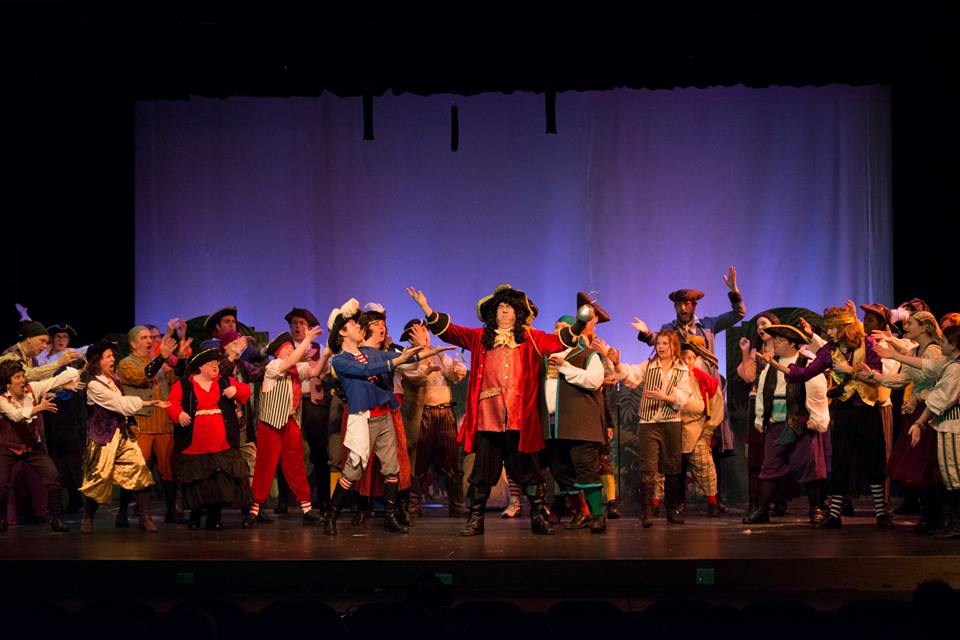 Hook, Smee and the Pirates