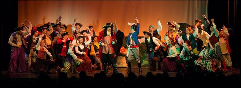 pirates dance the Tarantella