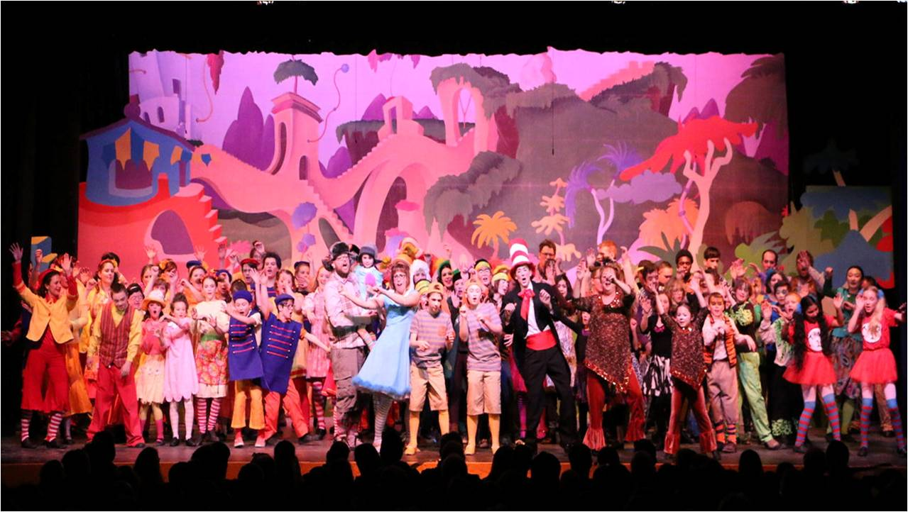 Seussical curtain call